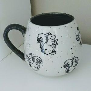 Meritage Grey inside Squirrel Mug
